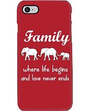 Elephant family t shirt phone case mug Phone Case i-phone-7-case