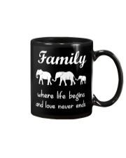 Elephant family t shirt phone case mug Mug thumbnail