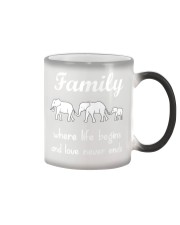 Elephant family t shirt phone case mug Color Changing Mug thumbnail