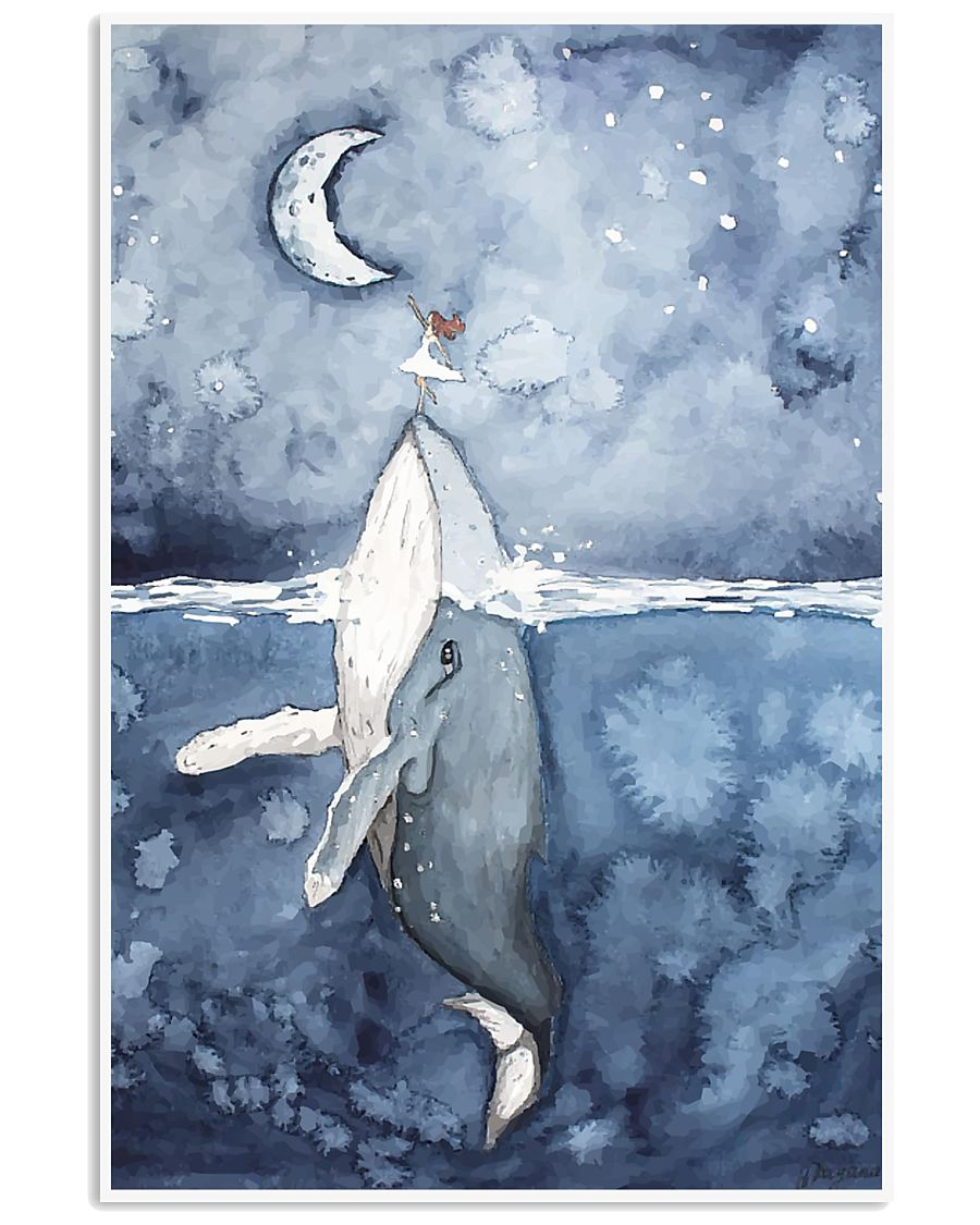 Humpback Whale Poster 11x17 Poster