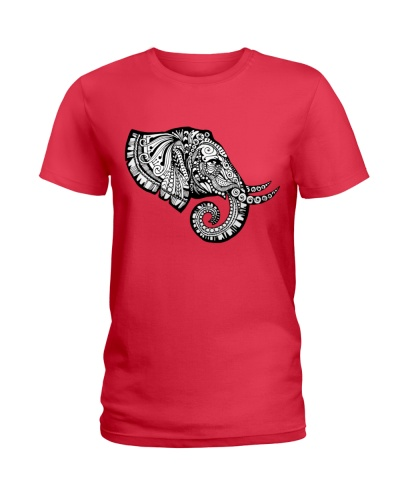 elephant zentangle t shirt tee mug