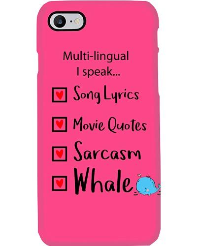 whale orcas family t shirt phone case mug