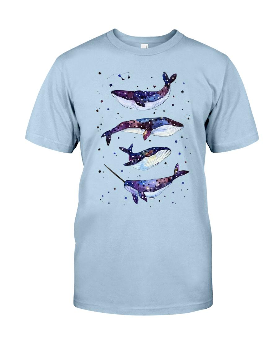 Whale Art Tee Classic T-Shirt