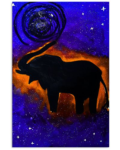 Elephant Art Galaxy painting Poster t shirt phone