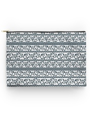 Ethnic elephant motifs Accessory Pouch - Large thumbnail