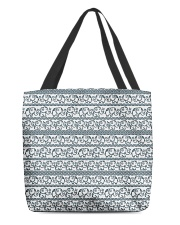 Ethnic elephant motifs All-over Tote thumbnail
