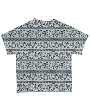 Ethnic elephant motifs All-over T-Shirt back