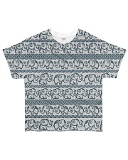Ethnic elephant motifs All-over T-Shirt front