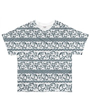 Ethnic elephant motifs All-over T-Shirt thumbnail