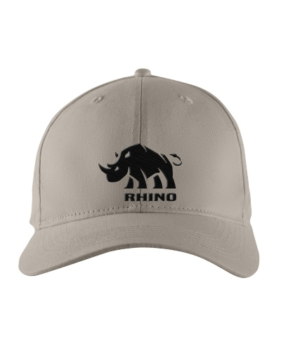 Rhino Hat Embroidered