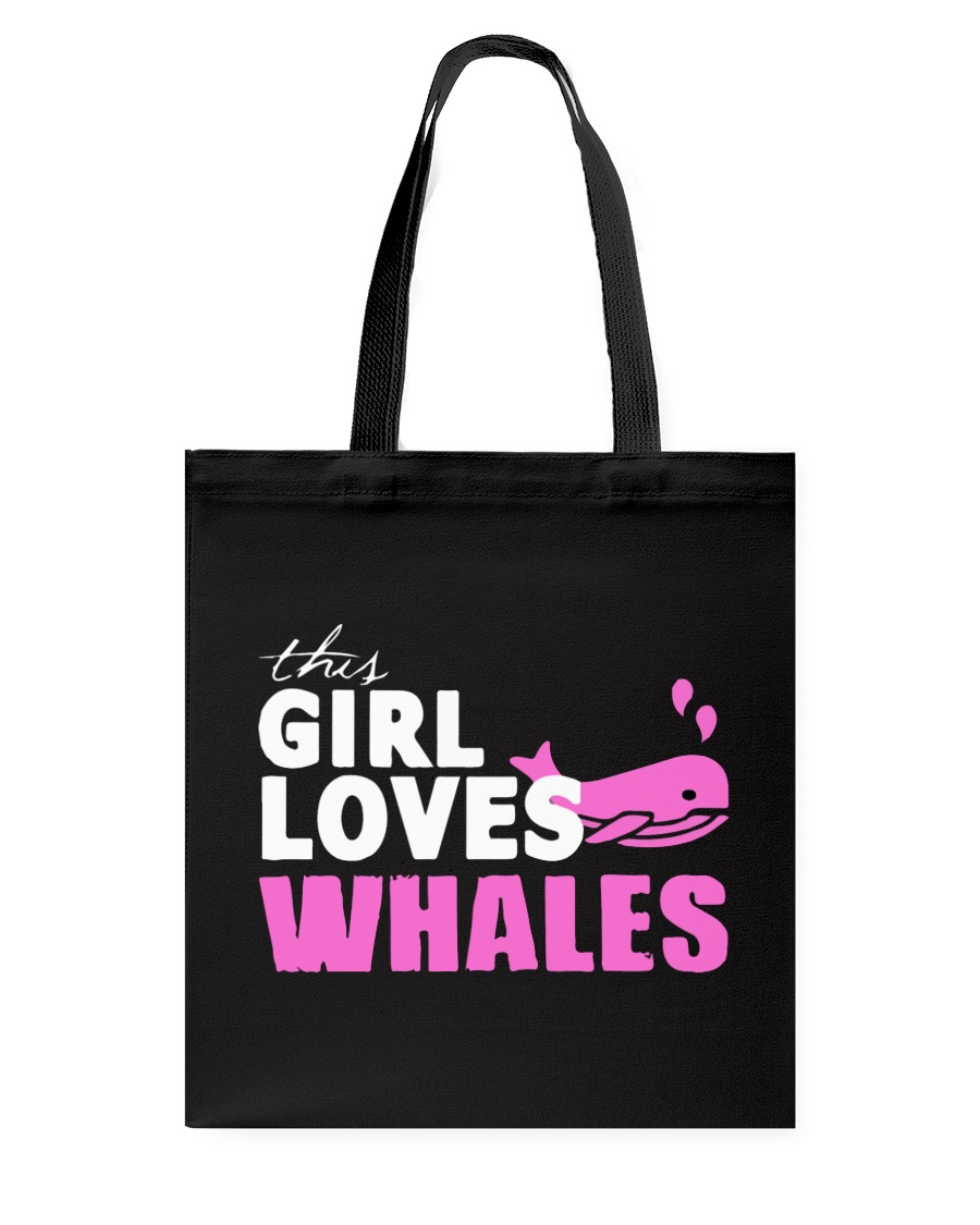 this girl loves whales Tote Bag