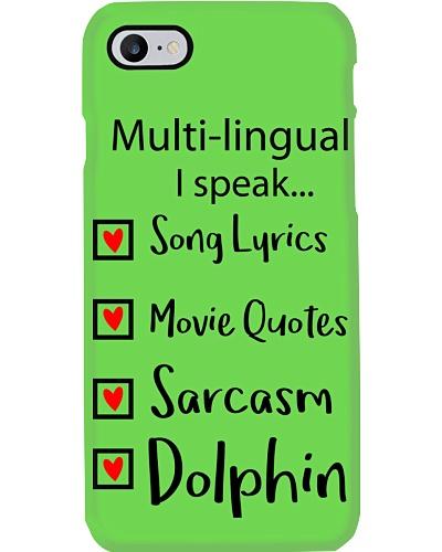 Dolphin T shirt mug phone case