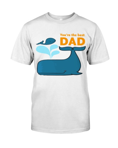 you are the best DAD whale t shirt tee mug phone
