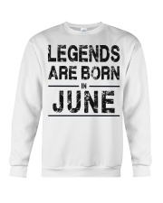 Legends are born in June Crewneck Sweatshirt thumbnail