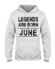 Legends are born in June Hooded Sweatshirt thumbnail