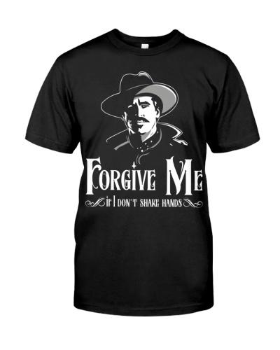 Forgive Me If I Don't Shake Hands