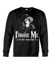 Forgive Me If I Don't Shake Hands Crewneck Sweatshirt thumbnail