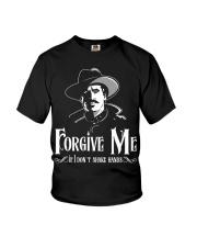 Forgive Me If I Don't Shake Hands Youth T-Shirt thumbnail