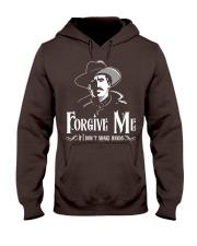 Forgive Me If I Don't Shake Hands Hooded Sweatshirt thumbnail