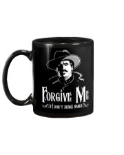 Forgive Me If I Don't Shake Hands Mug back