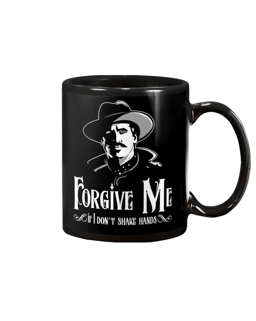 Forgive Me If I Don't Shake Hands Mug
