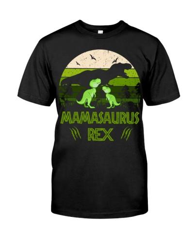 Mamasaurus Rex with Two Babysaurus Rex Vintage