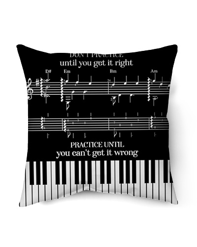 Piano Cushion Cover