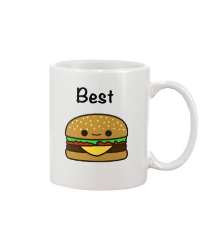 Hamburger hoodie tees