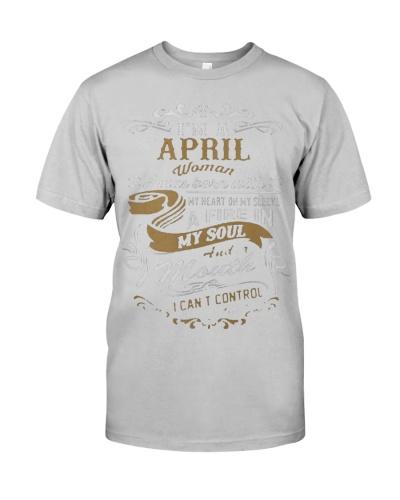 i am a april women