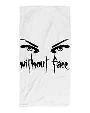 Eyes without Face Beach Towel front