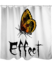 Butterfly Effect Shower Curtain front