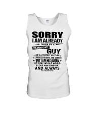Sorry Guy - gift for girlfriend NGHL00 Ladies T-Sh Unisex Tank thumbnail