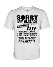 Sorry Guy - gift for girlfriend NGHL00 Ladies T-Sh V-Neck T-Shirt thumbnail