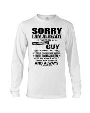 Sorry Guy - gift for girlfriend NGHL00 Ladies T-Sh Long Sleeve Tee thumbnail