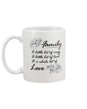 A Little Bit Of Crazy Family Mug back