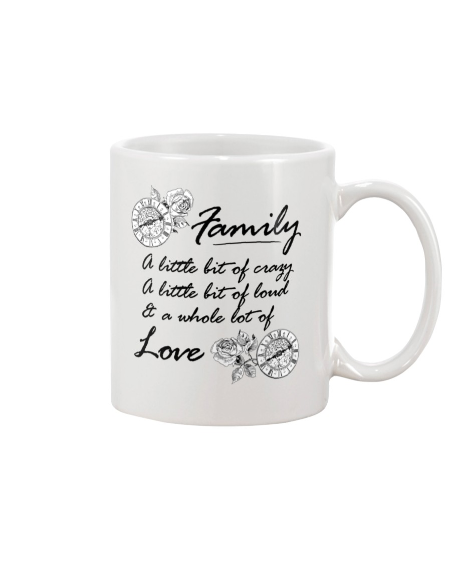 A Little Bit Of Crazy Family Mug