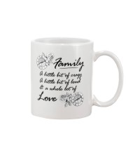 A Little Bit Of Crazy Family Mug front