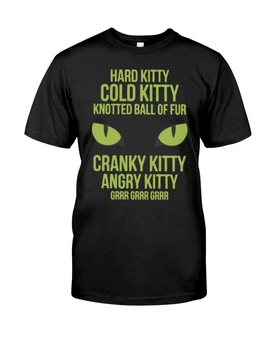 Hard Kitty Cold Kitty funny T-shirt Classic T-Shirt