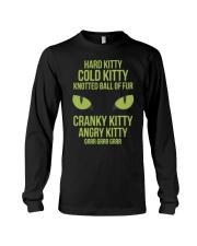 Hard Kitty Cold Kitty funny T-shirt Long Sleeve Tee thumbnail