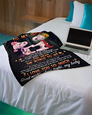 "Limited Edition Small Fleece Blanket - 30"" x 40"" aos-coral-fleece-blanket-30x40-lifestyle-front-10"