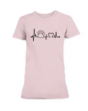 Cat paw T-shirt Premium Fit Ladies Tee thumbnail