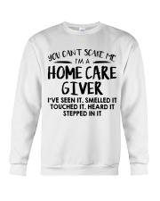 HOME CARE GIVER Crewneck Sweatshirt thumbnail