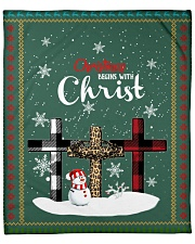 "For Christmas Fleece Blanket - 50"" x 60"" thumbnail"