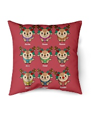 """For Christmas Indoor Pillow - 18"""" x 18"""" thumbnail"""