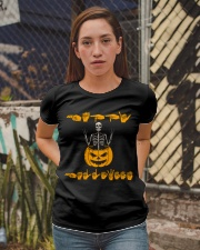 ASL - Happy Halloween Ladies T-Shirt apparel-ladies-t-shirt-lifestyle-03