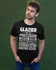 Glazier - We Do Precision Classic T-Shirt apparel-classic-tshirt-lifestyle-front-43
