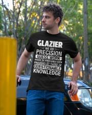 Glazier - We Do Precision Classic T-Shirt apparel-classic-tshirt-lifestyle-front-44