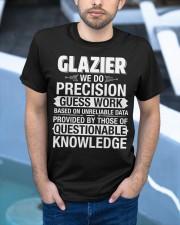 Glazier - We Do Precision Classic T-Shirt apparel-classic-tshirt-lifestyle-front-45
