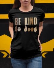 ASL - Be Kind Ladies T-Shirt apparel-ladies-t-shirt-lifestyle-04