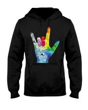 ASL Love Hooded Sweatshirt thumbnail